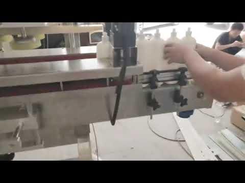 販売のための自動回転式PVCケーシングキャッピングマシン