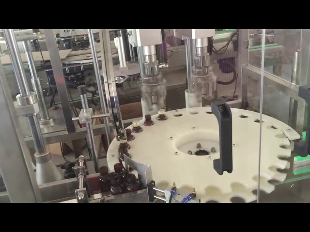 工場価格の回転式瓶の帽子のための高速自動おおう機械