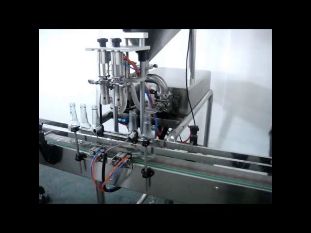 自動ダブルヘッド液体ハンドウォッシュ充填機販売