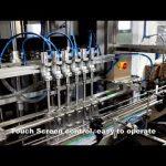 自動6ヘッド分配洗剤塩素液体充填充填機ライン