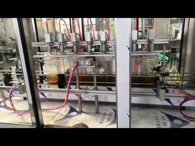 自動エンジンオイル充填機