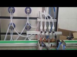 自動10ml 30ml 60ml 100mlボトル用液体充填機