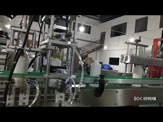 液体アミノ酸肥料充填機