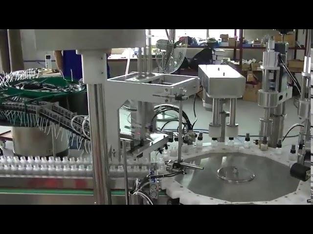 回転板モデル小型トリガーポンプキャップキャッピングマシン販売