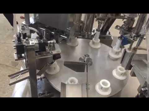 自動軟質プラスチックペースト、軟膏、歯磨き粉、チューブ充填シール機