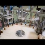 自動e液体10 mlボトル充填プラグキャッピングマシン