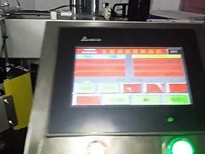 自動コンピューター化されたラベル印刷機ロールステッカービニール袋ラベル機
