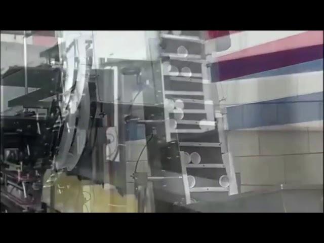 自動食用油植物油充填機、シリンダー駆動ピストン充填機