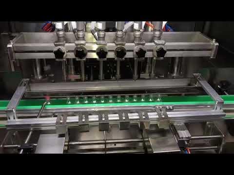 毎日の化学工業のための自動アルコール消毒剤のゲルの充填機