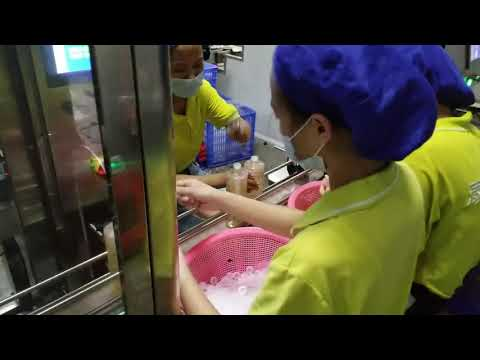 4ノズルシャンプー、洗剤、液体石鹸、オリーブオイルの充填およびキャッピングマシン