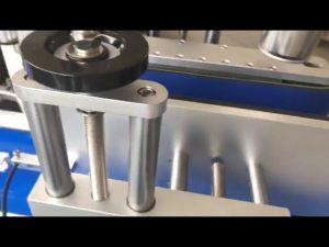 両面ラベル醸造ステッカー自動丸ボトルラベリングマシン