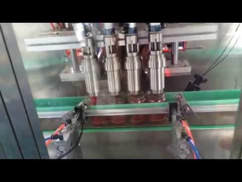 自動トマトソース、チリソース、ヨーグルト、ジャムペースト充填機メーカー