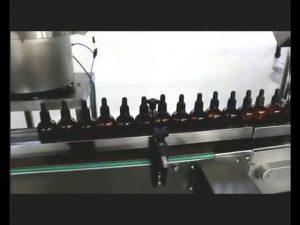 自動マニキュア香水目薬ポーション充填キャッピングマシン