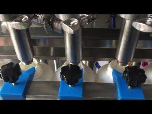 全自動ピストンシャンプー液体ボトル充填機価格