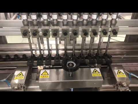 液体アルコールクリーム線形充填機、蜂蜜の瓶小瓶オイルフィラー