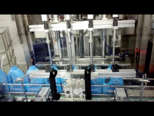 100-1000ml自動液体石鹸手洗い手石鹸手消毒剤充填機