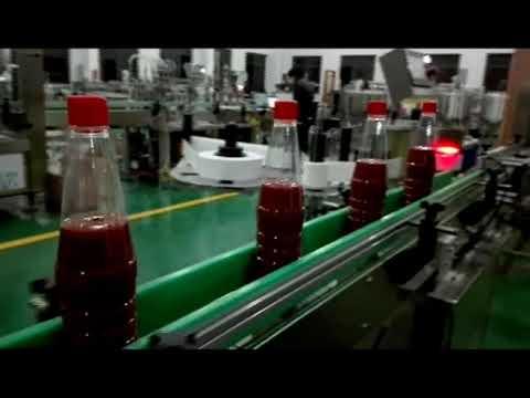 ケチャップ、ジャム、ソース用の高速全自動ボトル充填機