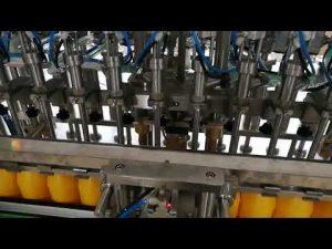 12ヘッドケチャップオイルソース化粧品用自動ボトル充填機
