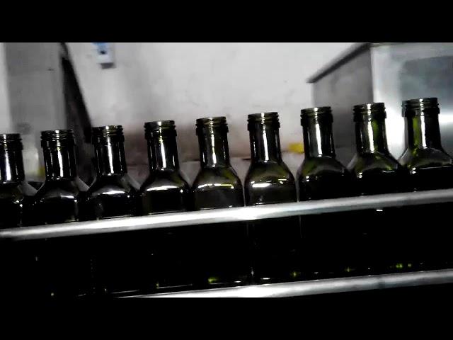 全自動オリーブオイルリニア6ノズルオイルボトルフィラー