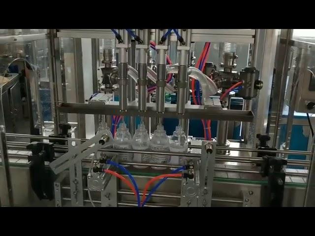 自動手消毒剤アルコール洗剤充填機