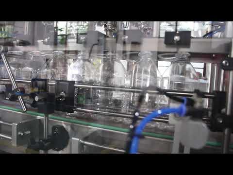 自動手消毒剤ゲル液体充填機