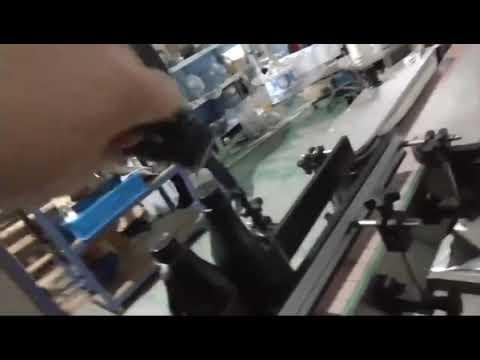 自動インラインストレートガラスボトルアルミキャップroppキャッピングマシン